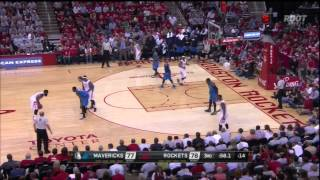 [4.21.15] Full Houston Rockets Highlights vs Mavericks (Playoffs Round 1, Game 2)