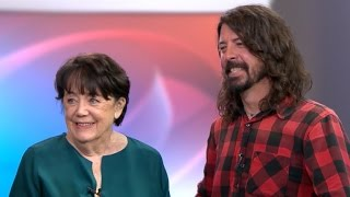 Dave Grohl and his mom talk about raising a rock star