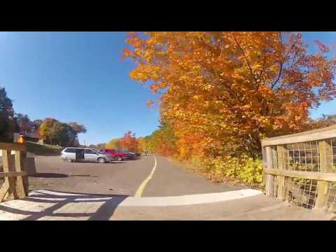 Fall Colors on the Houghton Michigan Trail