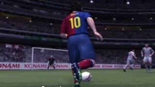 Lionel Messi Great Goal - Pro Evolution Soccer 2009 DEMO