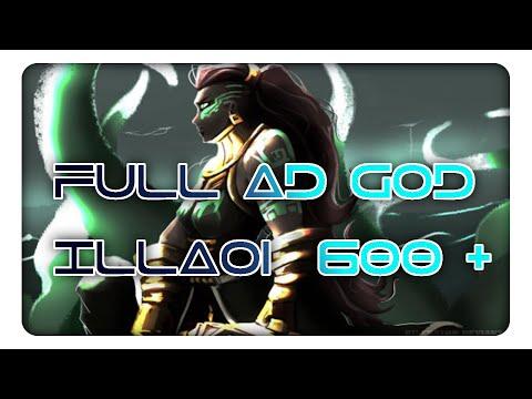 Toplane God Illaoi   Full AD Illaoi 600 + AD Montage Lol !