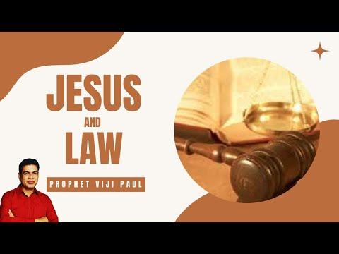Malayalam Christian Messages Jesus and Law - യേശുവും ന്യായപ്രമണവും by Bro Viji Paul