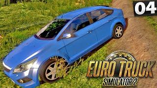 Acidente na Estrada - Euro Truck Simulator 2