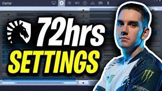 Liquid 72hrs Fortnite Settings and Keybinds (Pro Fortnite Player)