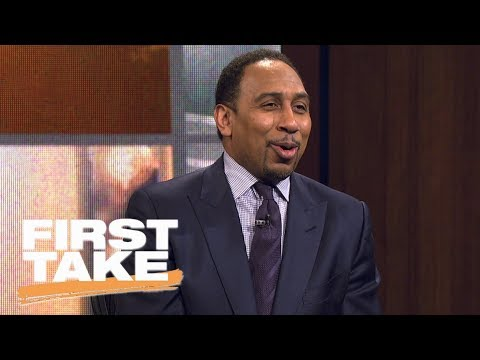 Stephen A. Smith enjoyed watching the Cowboys get 'romped' by Falcons | First Take | ESPN