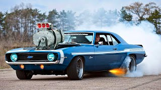 American Muscle Cars Compilation | Big Engines & Power Sound 2020