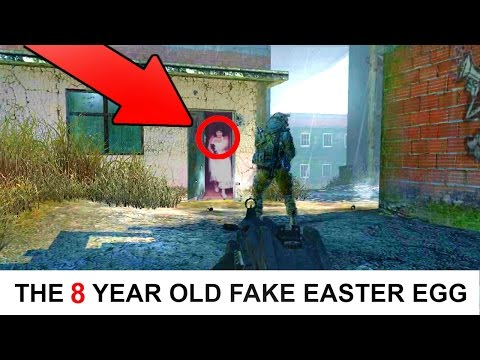 The MW2 8 YEAR OLD EASTER EGG We All FELL FOR! Old Lady MW2 EASTER EGG TROLLING (He FELL For This!!)