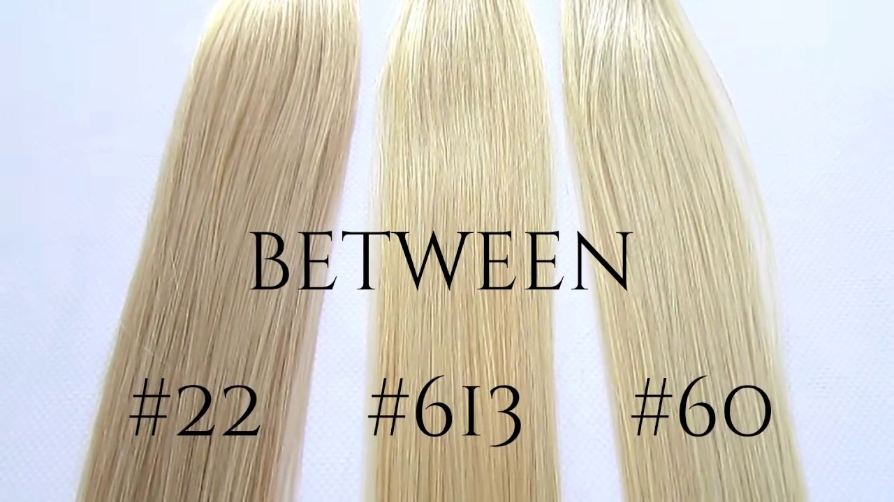 Difference Between Our Blondes 22 613 60 Youtube