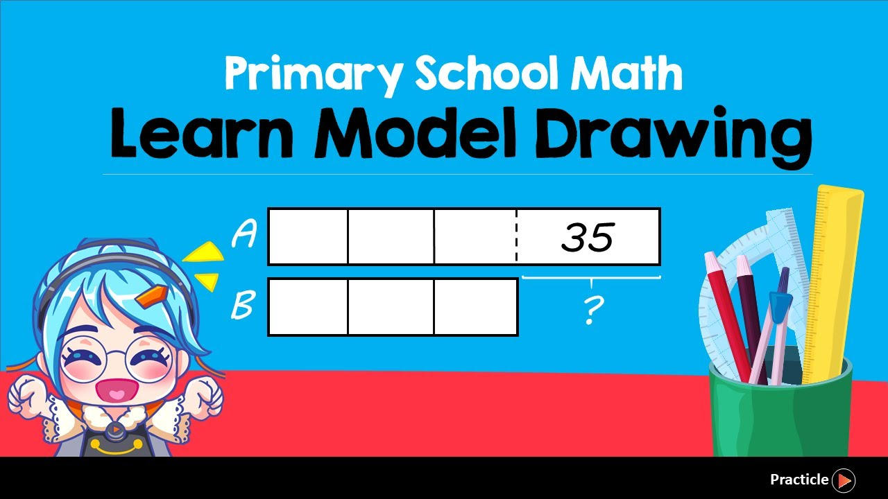 Model Drawing with Before and After (Singapore Math Problem Solving ...