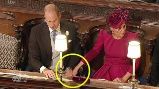 What Kate & William's rare PDA at the royal wedding really means - and it's very steamy