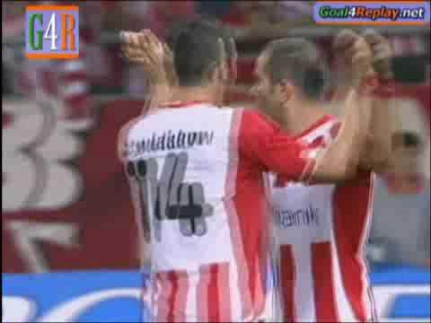 Olympiakos-Slovan Bratislava 1-0(Enzo Maresca)
