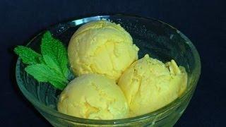 Mango Ice Cream - Indian Dessert Recipe Video