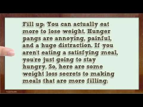 Eat More and Drop Pounds Healthy Foods to Eat to Lose Weight 2