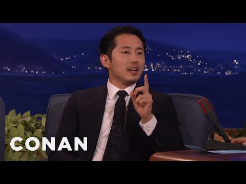 Steven Yeun: Conan's Been Mispronouncing My Name For Years  - CONAN on TBS