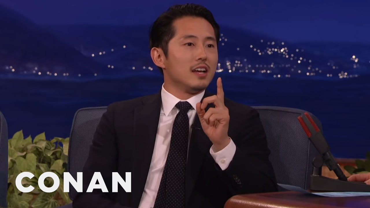 Steven Yeun: Conan's Been Mispronouncing My Name For Years | CONAN on TBS