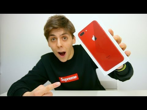 iPhone 8 Plus (PRODUCT) RED Unboxing!