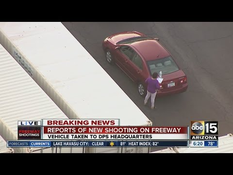 Reports of new freeway shooting in Phoenix