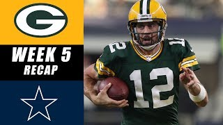Packers vs Cowboys Recap: Week 5 2017
