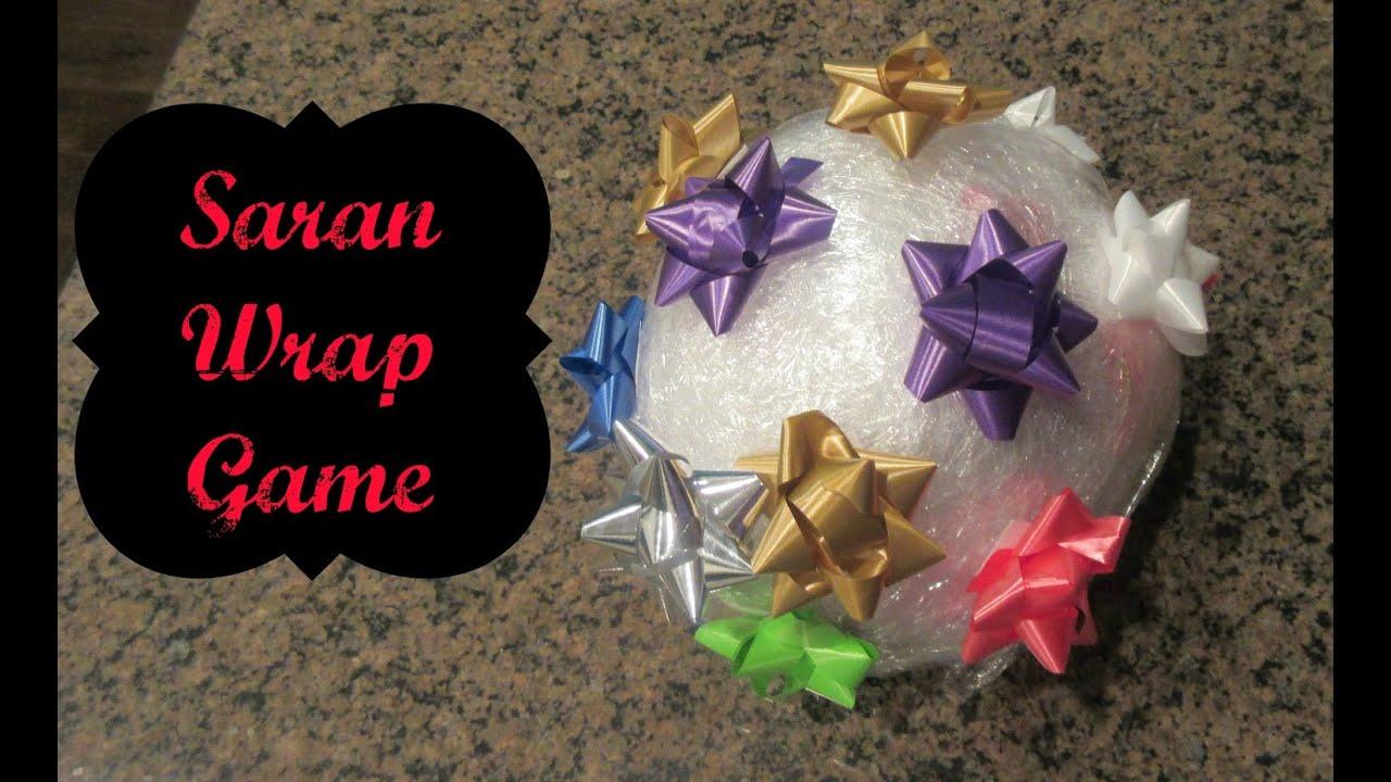 Saran Wrap game - YouTube