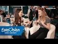 Blanche aus Belgien im Speed-Date | Eurovision Song Contest | NDR