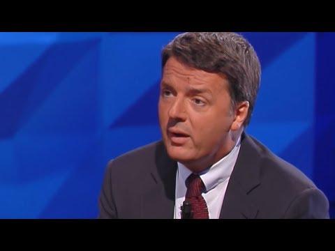 Matteo Renzi a Carta Bianca