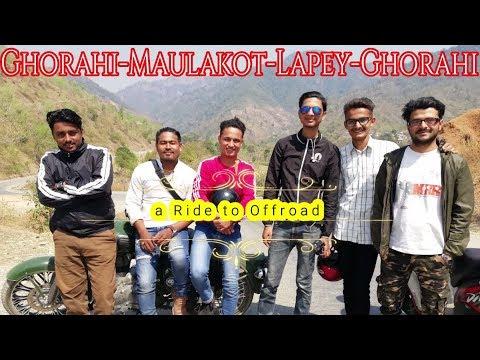 A Ride To Maulakot -Lapay | Beautifull Scene | Ghorahi City | Dang | Offroad Riding