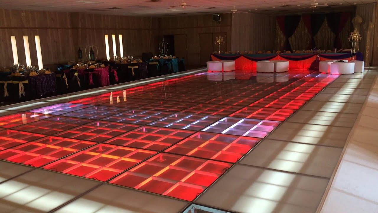 60 39 x 32 39 glass dance floor youtube for 1234 get on dance floor