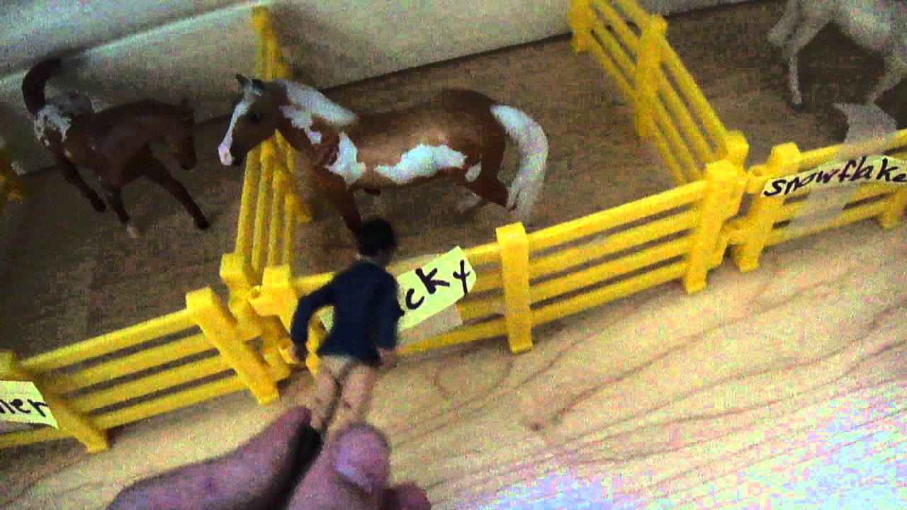 Breyer Stablemates Barn Tour Youtube