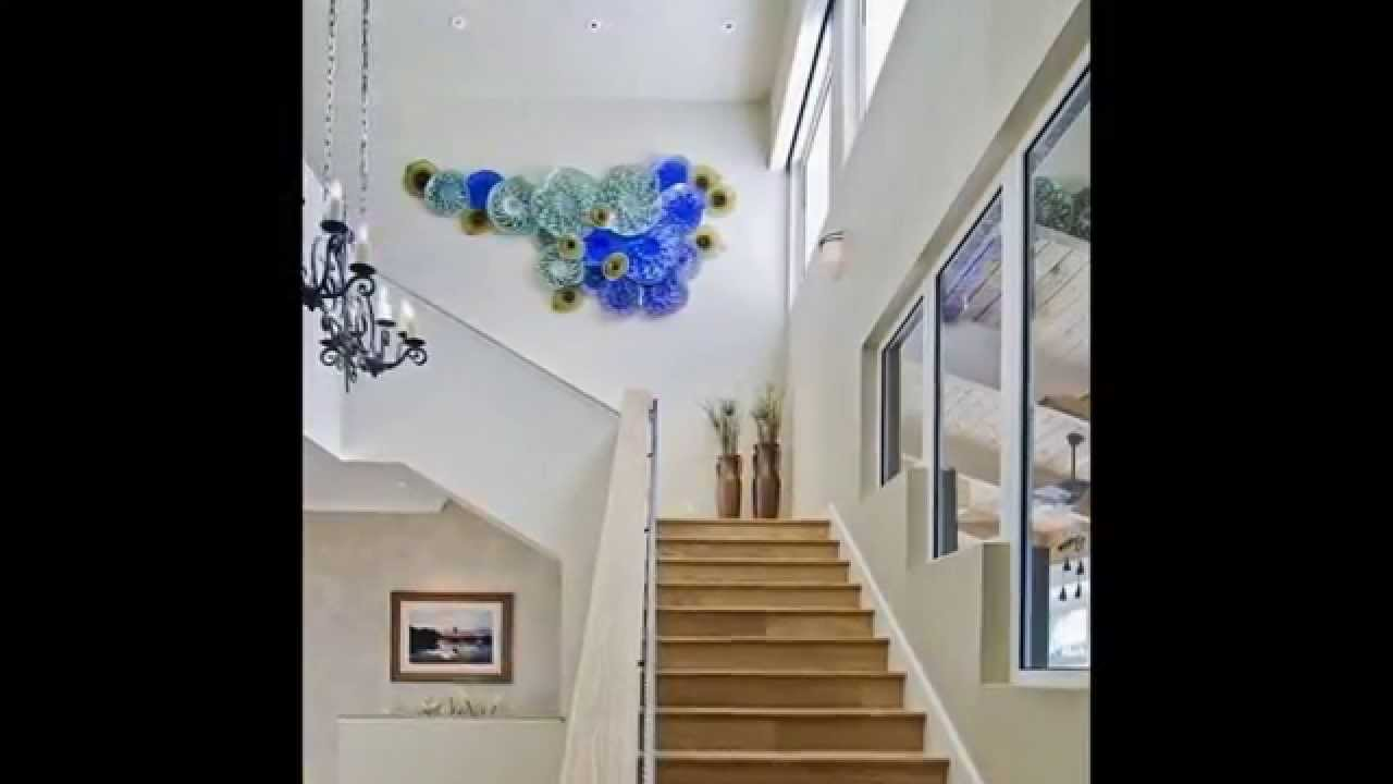 Blue Decorative Wall Plates Delectable Decorative Wall Platesopteareferencement  Youtube Inspiration