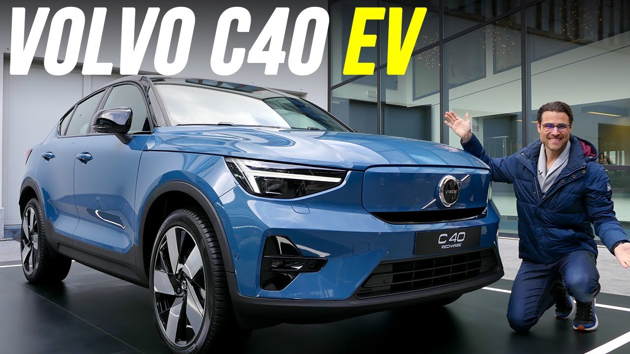 Download Volvo C40 driving REVIEW - this EV shows the future of Volvo as a brand!