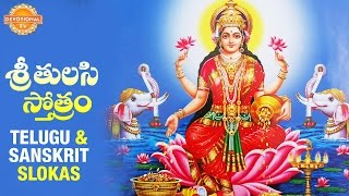 Sri Tulasi Stotram | Goddess Sri Lakshmi Devi Songs | Telugu and Sanskrit Slokas | Devotional TV