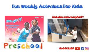 Intro // Fun Weekly Activities For Kids // YouTube For Kids At Home