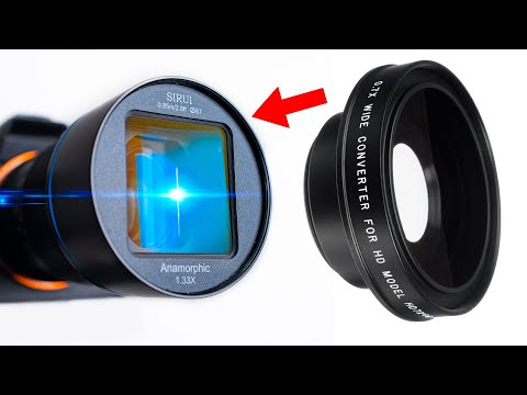 How To Hack The Sirui Anamorphic Lens