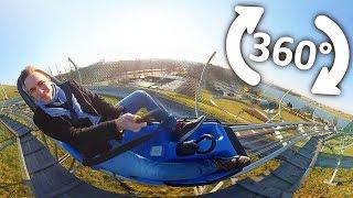 Alpine Coaster - Kolejka Górska - 360° Video - Poznań Malta