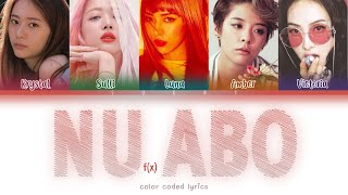 f(x) (에프엑스) – NU ABO (NU 예삐오)(Han|Rom|Eng) Color Coded Lyric…