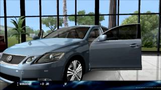 TEST DRIVE UNLIMITED-Lexus Showroom gameplay pc