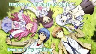 Brave Song by Aoi Tada FULL (angel beats ending)