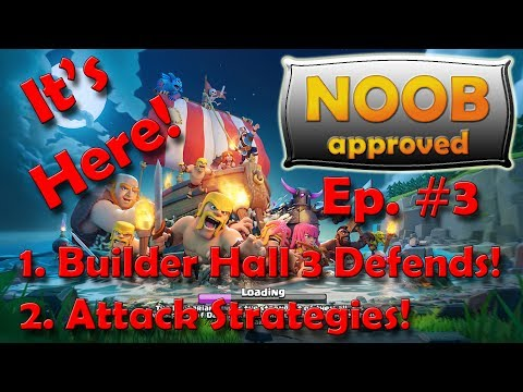 Clash of Clans UPDATE | Builder Base 3 defense! | Attack strategies