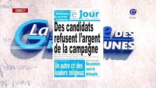 LA REVUE DES GRANDES UNES DU JEUDI 20 SEPTEMBRE 2018 - ÉQUINOXE TV