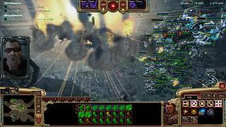 StarCraft 2 Co-Op Mengsk Nuclear Annihilation and Earthsplitter ordnance OP
