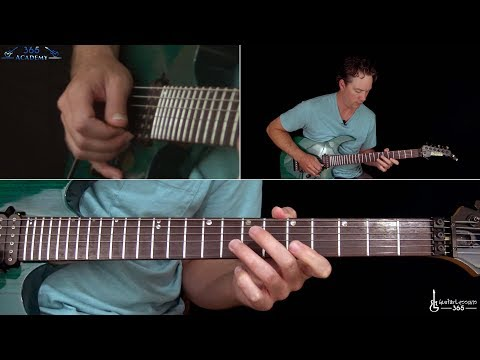 Metallica - Am I Evil? Guitar Lesson (Rhythms)