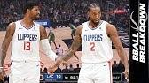 Paul George & Kawhi Leonard Together Take Down NBA Best Celtics in OT! Game Highlights