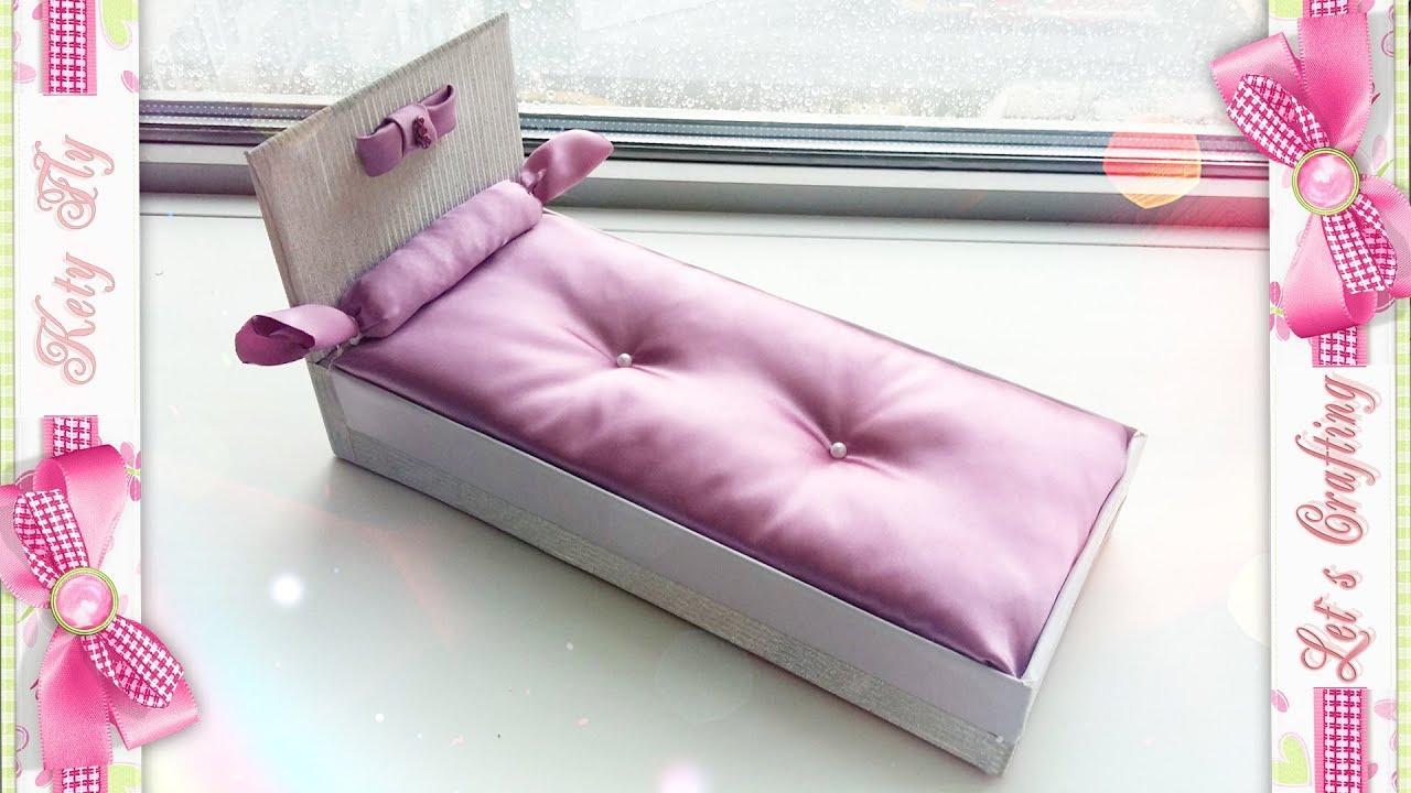 Как сделать кровать для кукол из 599