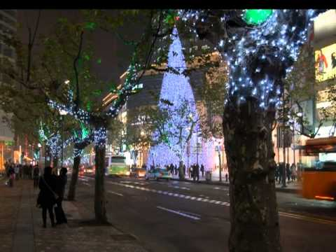 2nd video for Erasure's Goodnight, with Christmas images from Moscow, Beijing, and ones from Tokyo