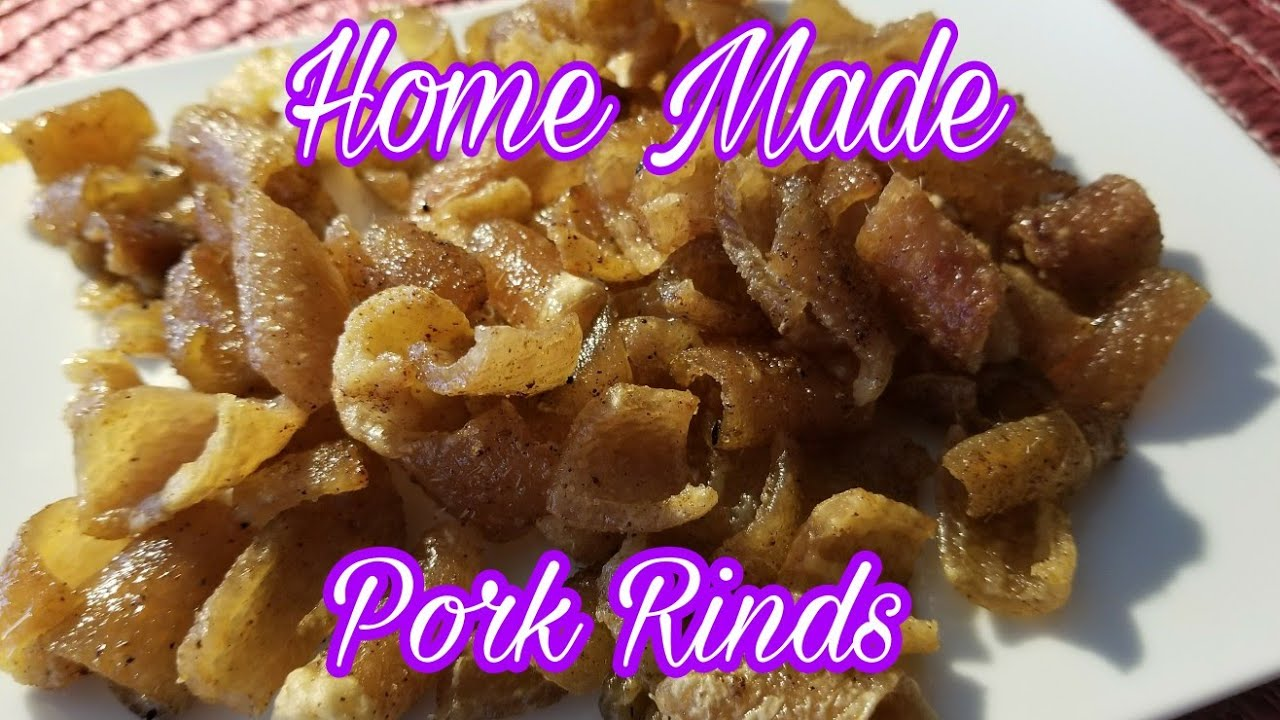 how to make pork rinds youtube