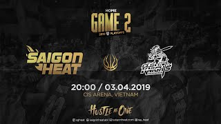 ABL9 || Playoffs - Game 2: Saigon Heat vs CLS Knights  | Full Game Replay