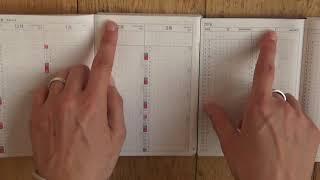 Hobonichi A6 comparison: Original vs English Planner