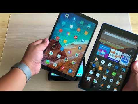Xiaomi Mi Pad 4 Plus vs iPad 2018 vs Amazon HD 10 - EPIC