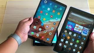Xiaomi Mi Pad 4 Plus vs iPad 2018 vs Amazon HD 10 - EPIC Comparison Review!