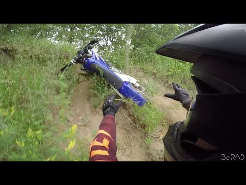 Getting SILLY on the yz250x! - Bundy Hill